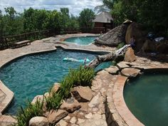 Mabalingwe jacuzzi Jacuzzi, Garden Ideas, Africa, Places, Outdoor Decor, Afro, Lugares, Hot Tubs, Backyard Ideas