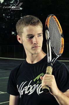 Senior Tennis Player by Bryan Campbell Photography, Greenville, Alabama