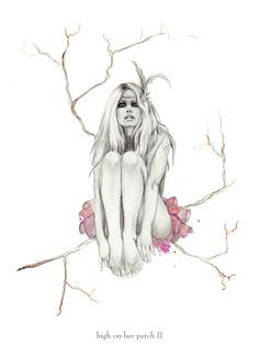 Kelly Smith illustration via ana_lee