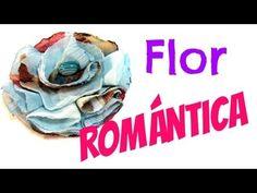 Tutorial: Flor de tela romántica. Romantic fabric flower