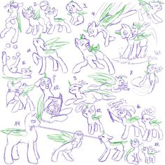 a new pony study ;3 all of them are for free use but PLEASE link to me or the picture here when you used one of my skeches. thank you ヽ(・ω・ゞ) download for full...