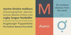 Avenir® - Webfont & Desktop font « MyFonts