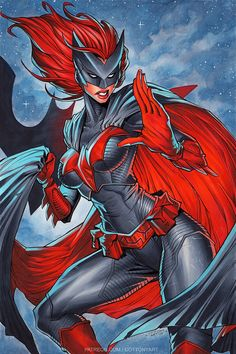 Batwoman | Commission by CottonyHotchkiss.deviantart.com on @DeviantArt