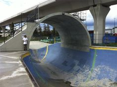 skate-parks-in-the-world-8-coolest-best-largest Millennium Skate Park, Calgary, Alberta, Canada