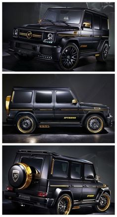 OMG! The World's Most Expensive SUVs. Check out the the most extravagant Mercedes-Benz G65 AMG you will ever see! #spon #Hamann