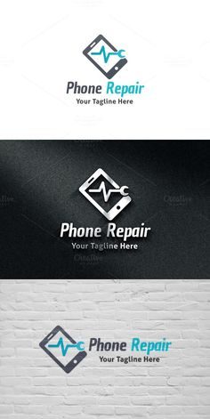 Phone Repair Logo. Gradients Photoshop. $29.00