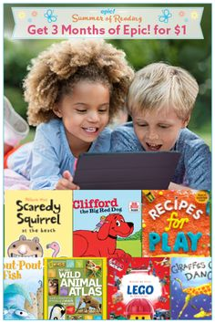 Give Your Kids a Summer Full of Reading and Exploration with Unlimited Access to 25,000 Books and Videos!