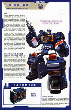 Transformers Universe - Gallery: G1 Soundwave