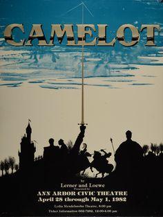 Camelot. Ann Arbor Civic Theatre.