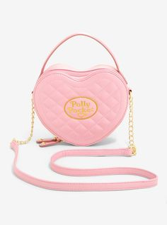8a0f0270813f Polly Pocket Quilted Heart Crossbody Bag