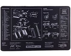 1e2007212729d8 Glock Bench Mat Glock Firearm accessories   other Sku Upc  764503000621
