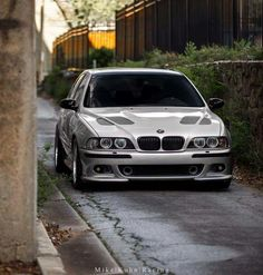 BMW E39 M5 silver