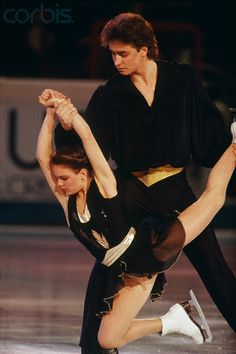 ekaterina gordeeva and sergei grinkov....she was so strong after his untimely death.