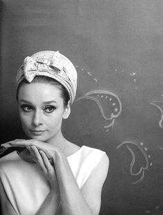 Audrey Hepburn photographed by Cecil Beaton, 1964.