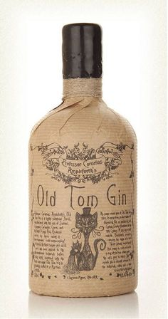 Professor Cornelius Ampleforth's Old Tom Gin - A Victorian-inspired gin for any…