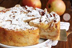 TORTA PAESANA ricetta veloce Senza FArina ed economica Italian Cream Cakes, Italian Cake, Italian Desserts, Sweet Desserts, Italian Recipes, Greek Recipes, Sweets Recipes, Cake Recipes, Apple Tart Recipe