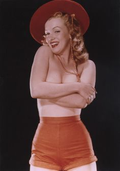 Marilyn Monroe in 1947.  That's what I luv about MM.  She was willing to share her body with all of us!
