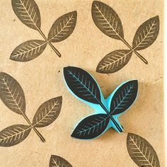 New addition to my collection. Endless posibilities with this rubber stamp! #fall #autumn #etsy #etsyshop #cassastamps #leaves #treeleaves #leaf