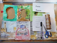About a month ago I posted some pictures of tunnel books that two Grade 6 classes made. I promised the tutorial and here it is. The tu. Up Book, Book Art, Tunnel Book Tutorial, Book Club Suggestions, Book Crafts, Paper Crafts, Paper Art, Art Drawings For Kids, Art Activities For Kids