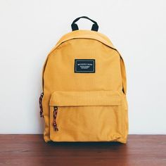 basic yellow backpack 18 litre