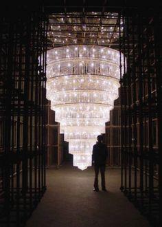 Chandelier, 2002 by Ai Weiwei