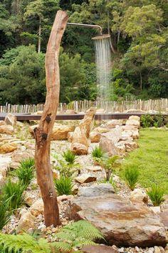 douche extérieur pour jardin  | ... un espace extérieur extraordinaire avec…