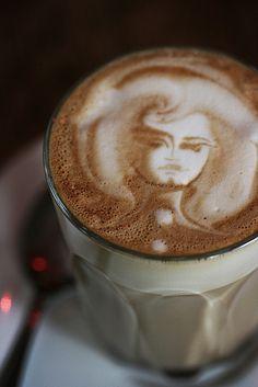 latte portrait