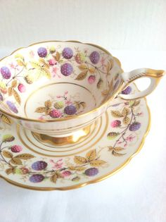 English Bone China Royal Stafford Golden by MariasFarmhouse