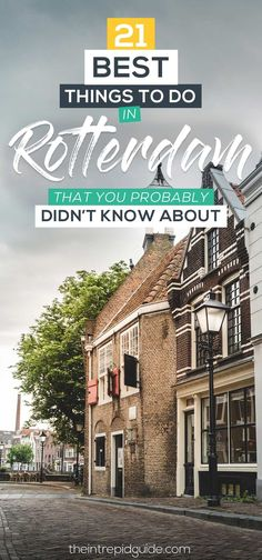 Bright cube houses, the world's largest painting, and 19 UNESCO listed windmills, these are just a few of the best things to do in Rotterdam. Europe Travel Tips, Places To Travel, Travel Plan, European Travel, Travel Guides, Bologna, Glasgow, Amazing Destinations, Europe