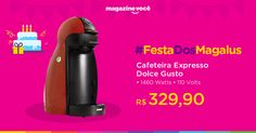 Cafeteira Expresso 15 Bar Arno Dolce Gusto Piccolo - Vermelho 110 Volts