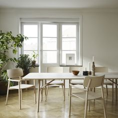 """@skagerak_denmark are noted for their quality craftsmanship, sustainable materials and warm aesthetic nature."" The simple lines leave the room open and bright and welcoming."