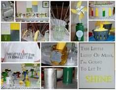 """""""This Little Light of Mine"""" Birthday Party - lots of great  ideas!"""