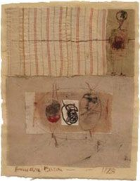 UNTITLED (C78 170), 1978  mixed media collage  10 ¾ x 8 ½ inches