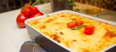 Sunnere moussaka med aubergine Moussaka, Cottage Cheese, Cornbread, Macaroni And Cheese, Ethnic Recipes, Food, Millet Bread, Mac And Cheese, Meals