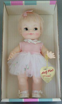 1960 Half Pint doll by Effanbee