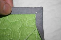 crazy mom quilts: a binding tutorial