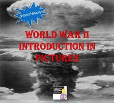 FREE! World War II Preview in Pictures. This is a 30-slide power point presentation that your students will enjoy when learning about World War II in your World History class. I show it the first day of the unit as the students walk in the door. The presentation will transition automatically. World War II songs are included to play in the background.