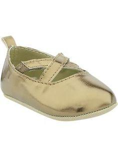 Metallic Ballet Flats for Baby | Old Navy