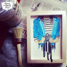 Ylenia Marino - Hipster till I die - illustration