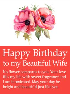 61 Best Birthday Cards For Wife Images Anniversary Greeting Cards