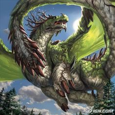 Just a common dragon