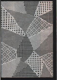 "Photo from album ""Журнал ""Дуплет"" on Yandex. Freeform Crochet, Crochet Diagram, Thread Crochet, Filet Crochet, Crochet Motif, Crochet Doilies, Crochet Patterns, Intarsia Knitting, Knitting Stitches"