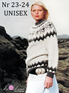 Pattern - UNISEX 23-24 - Icelandic knitted sweater in Álafoss Lopi More