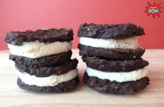 Protein Oreos - A High-Protein, Low-Carb, and Low-Calorie Healthy Oreo Cookie Recipe, WHAT!?