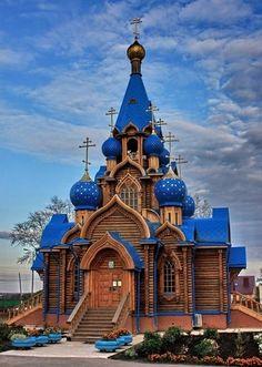 church near Samara church near Samara – Kirchen, Tempel & Co. Russian Architecture, Sacred Architecture, Church Architecture, Religious Architecture, Beautiful Architecture, Architecture Design, Beautiful Castles, Beautiful Buildings, Beautiful Places