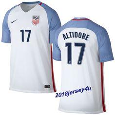 ea8ae7225e4 Jozy Altidore 17 2016 COPA America Centenario USA Men s Home Soccer Jersey  Us Soccer