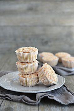 Muffinki kokosowe bez glutenu i laktozy Sweets Cake, Fodmap, Low Carb, Clean Eating, Gluten Free, Keto, Cupcakes, Yummy Food, Baking