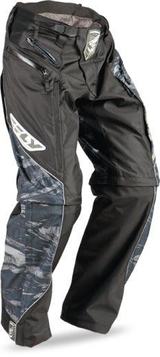 NEW Fly Racing Patrol motocross MX BMX riding pants mens adult size 42 black