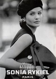 Helena Christensen for Sonia Rykiel Summer 1993