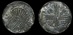 Hiberno-Norse Phase VI - very crude bust, crozier l. long cross with sceptres and pellets, Edge crimped as usual for this issue, deeply toned good very fine Coins, Old Things, Personalized Items, Rooms
